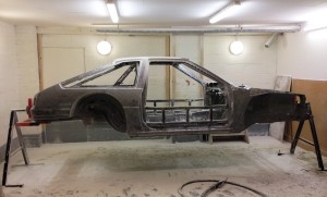 soda blasted toyota ae86