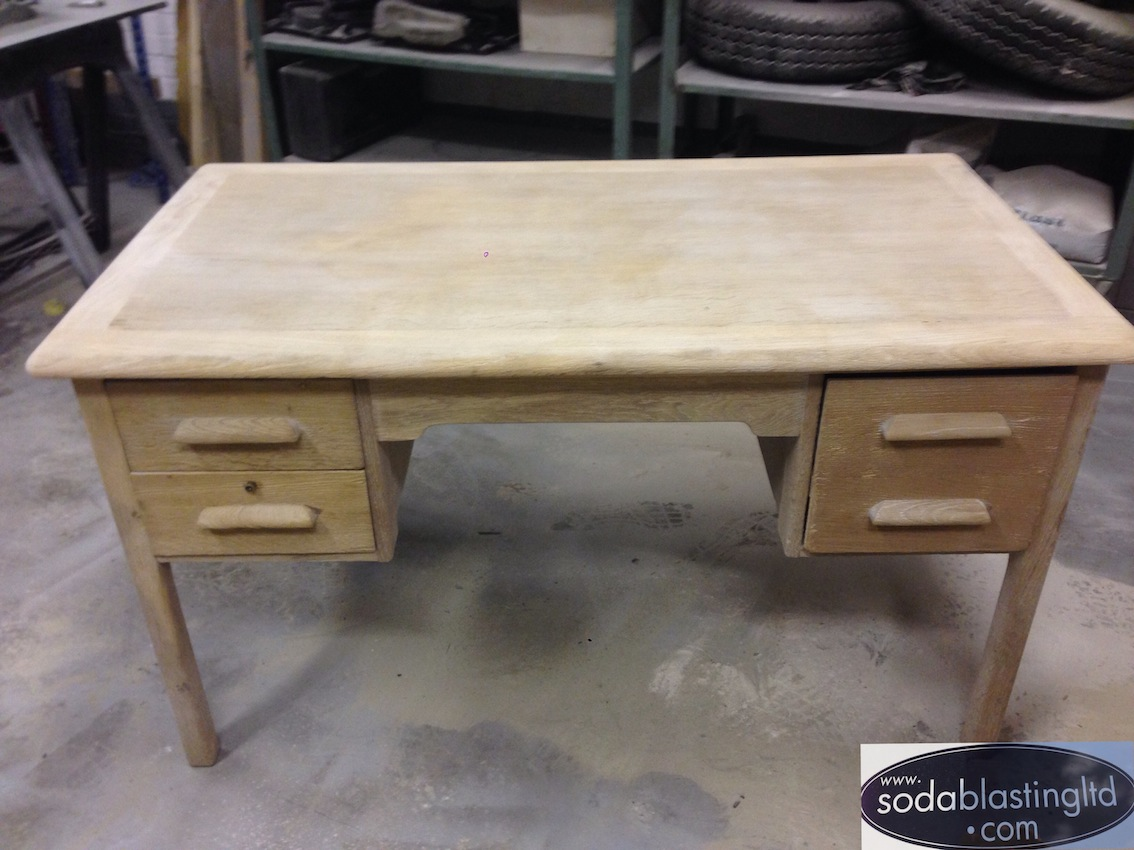 Oak Desk Oak Furniture Oak Furniture. Oak Desk Soda Blasting UK
