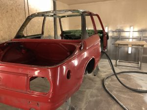 how to strip paint from a bmw 2002