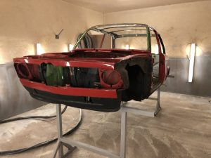 how to remove the paint from a BMW 2002
