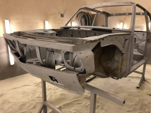 how to strip the paint from a bmw 2002