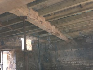 after - centre beam