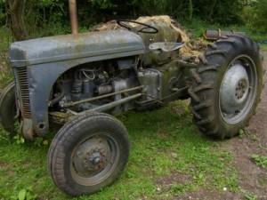 ferguson te 20 d tractor restoration