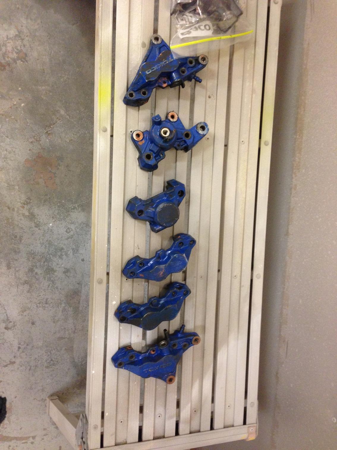 tokico brake calipers
