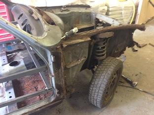 Mk1 Escort Suspension restoration