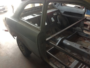 Ford Escort Side Panel to be restored