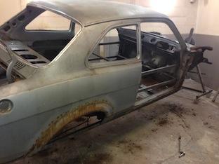 Mk 1 Ford Escort Car Restoration Project