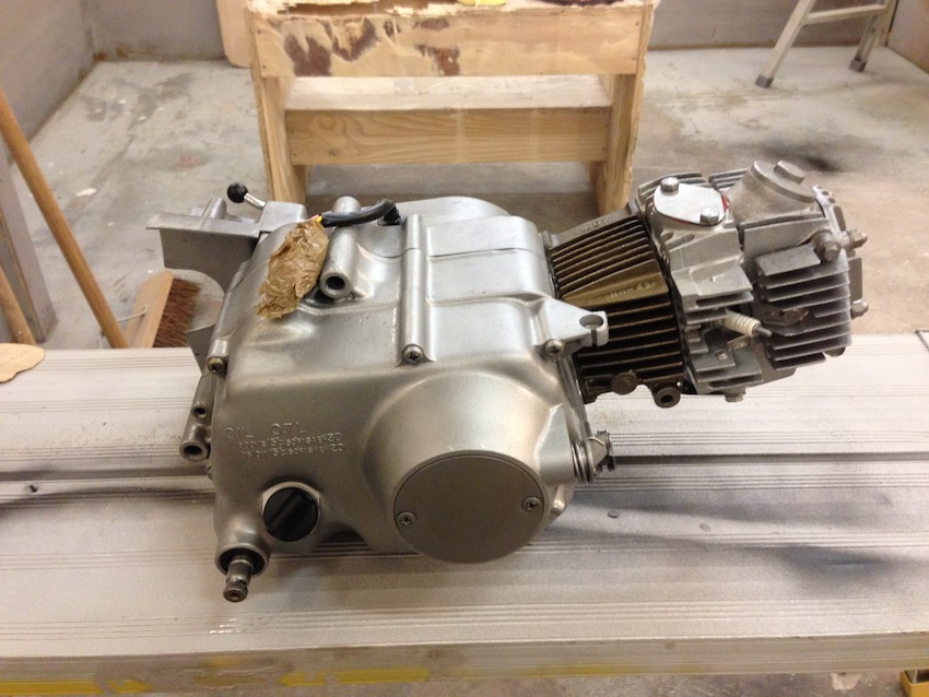 Honda 50cc Engine - Soda Blasting UK