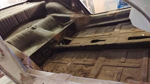 inside of Porsche 911