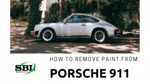 How to remove paint from a classic Porsche 911