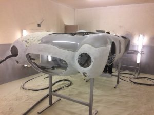 jaguar xk paint removal