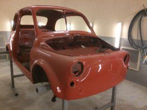 Fiat 500 shell