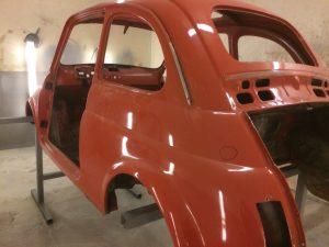 classic car Fiat 500