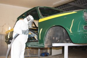 Ford Cortina paint removal