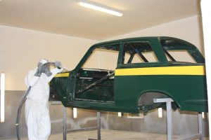 Ford Cortina restoration