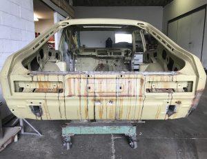 Acid dipped Ford Capri