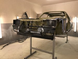 Ford Capri restoration project