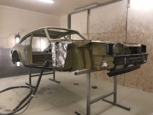 Ford capri shell restoration