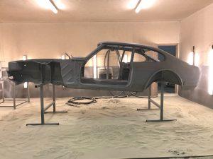 Ford Capri shell