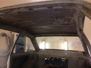 Ford Escort Internal roof