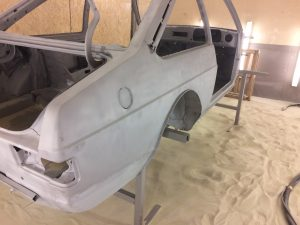 Ford Escort restoration