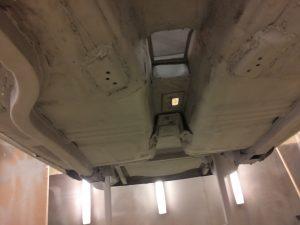 Ford Escort underside