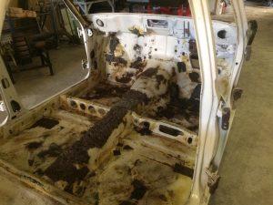 restoring a datsun 510
