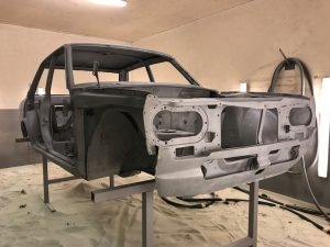restoring a japanese imported car